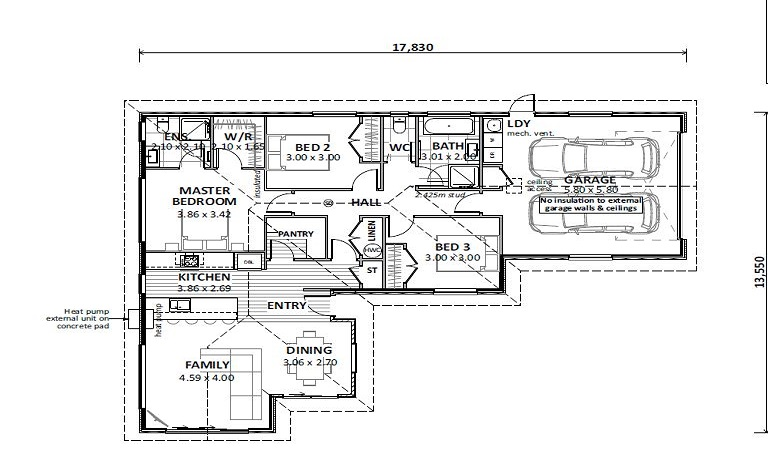 Floor Plan Lot 67 Bush Haven