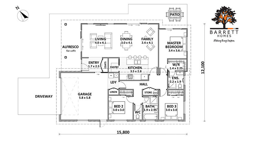 Floor Plan (Lot 36 Augusta Rise)