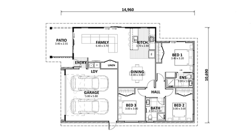 Floor Plan (Lot 35 Augusta)