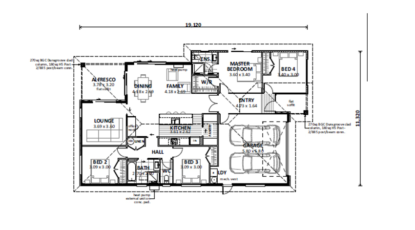 Floor Plan (Lot 9 Augusta Rise)