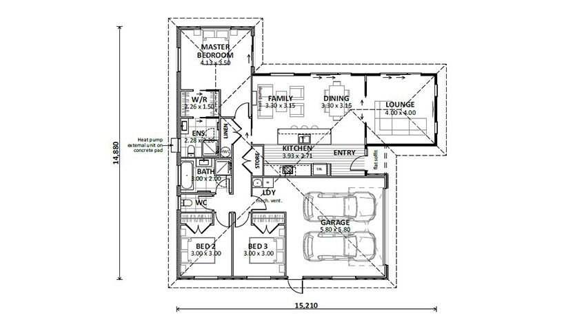 Floor Plan (Lot 27 Tynan Heights)
