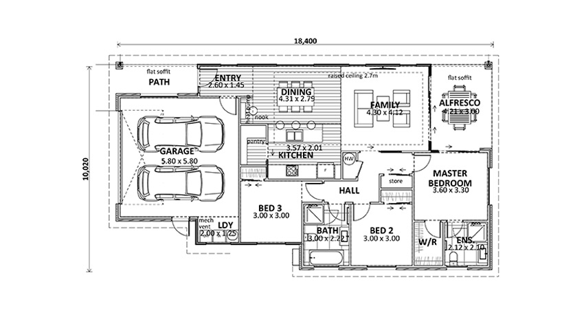 Floor Plan (Lot 32 Gair Estate)