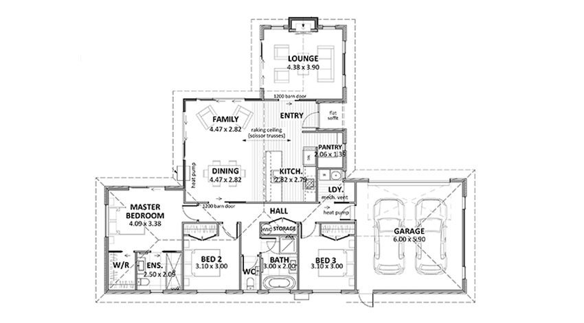 Floor Plan (Lot 4 Gair Estate)