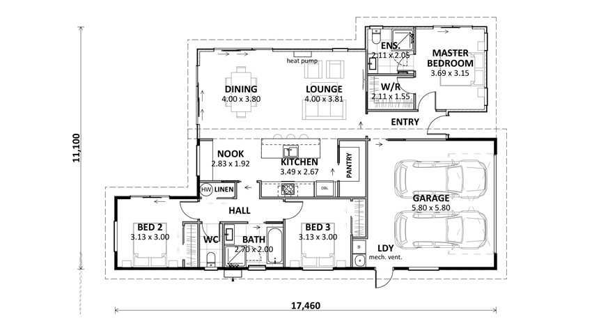 Floor Plan (Lot 28 Gair Estate)