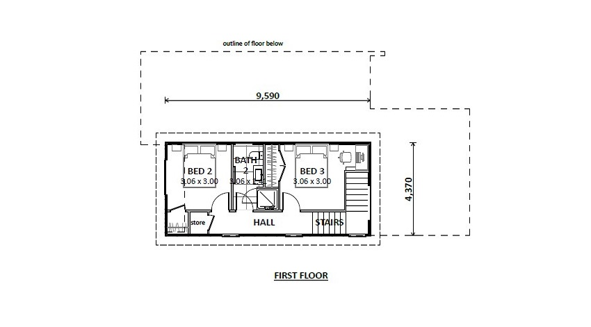 Lot 1248 GS - FP - First floor