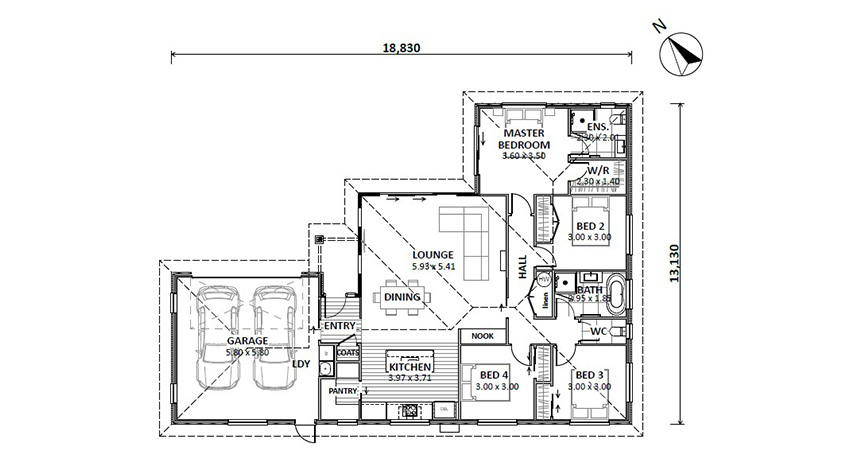 Floor Plan (Lot 29 Augusta)