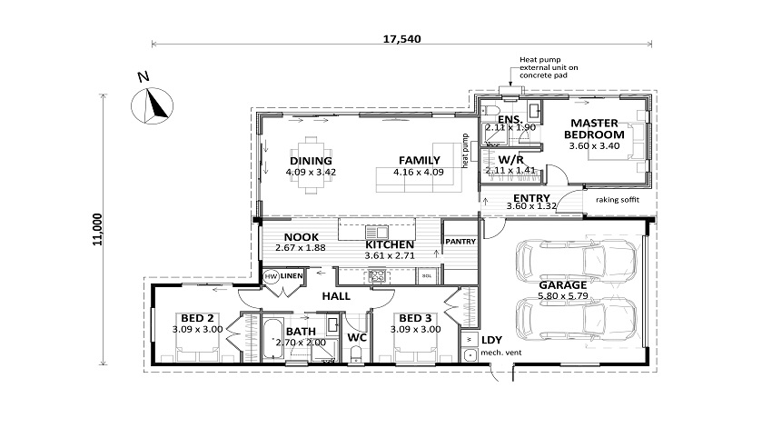 floor plan lot 31 matai