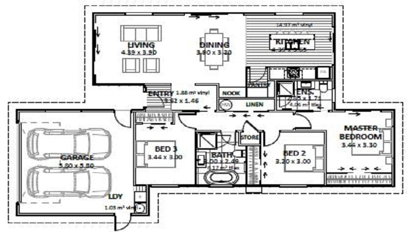 Lot 46 Gair Estate Floor Plan