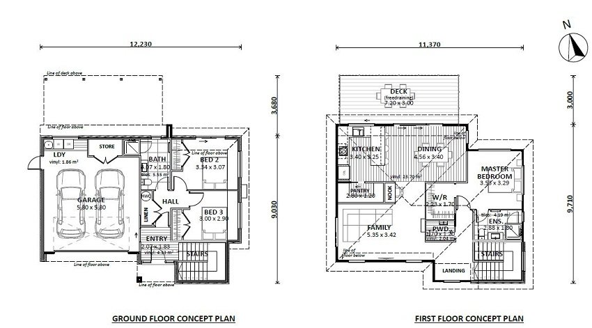 Lot 10 floor plan -