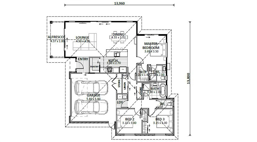 Flyer 73 PPark Floor plan resized